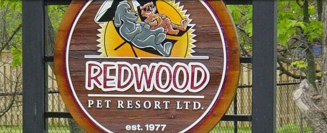 Redwood sign